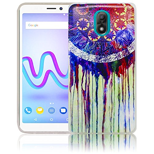 Wiko Lenny 5 Passend Traumfänger Handy-Hülle Silikon - staubdicht, stoßfest & leicht - Smartphone-Case