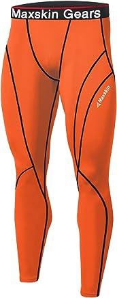 af02292f23e JustOneStyle New Men Skin Tights Compression Base Under Layer Sports Running  Long Pants