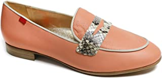 Genuine Leather Made in Brazil Womens Bryant Park 2.0 Loafer, Salmon Nappa Soft/Viper, 5.5 US