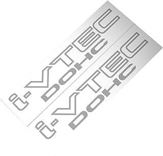 Demupai Car Decal for i-VTEC Dohc (Matte Silver)