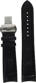 Tissot Leather Calfskin Black Watch Strap, 23mm Width (Model: T600041083)