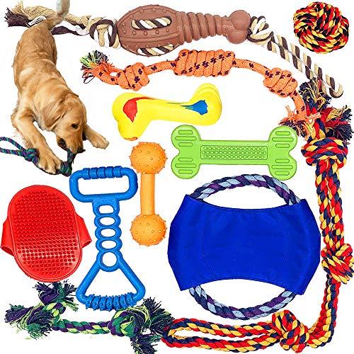 Mazu Homee Kauspielzeug für Hunde aus Naturkautschuk für Hunde, Seilspielzeug für...