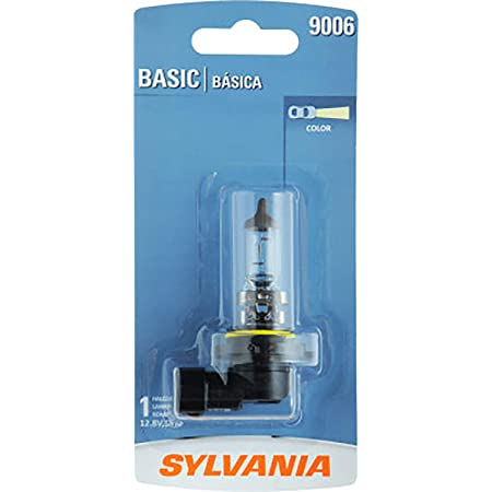 Contains 1 Bulb SYLVANIA 9006 Basic Halogen Headlight Bulb,