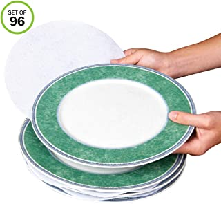 Evelots Plate Separators-Soft Felt-3 Sizes-Fine China/Dish Protectors-Set/96