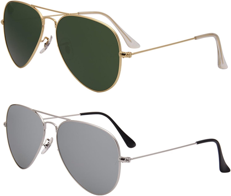 LianSan Brand Designer Classic Aviator Metal Frame Polarized Sunglasses Men Women Sun Glasses Lightweight 3025