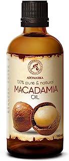 Aceite de Macadamia 100ml - Macadamia Integrifolia - Suráfrica - 100% Puro y Natural - Botella de Vidrio - Cuidado Intensi...