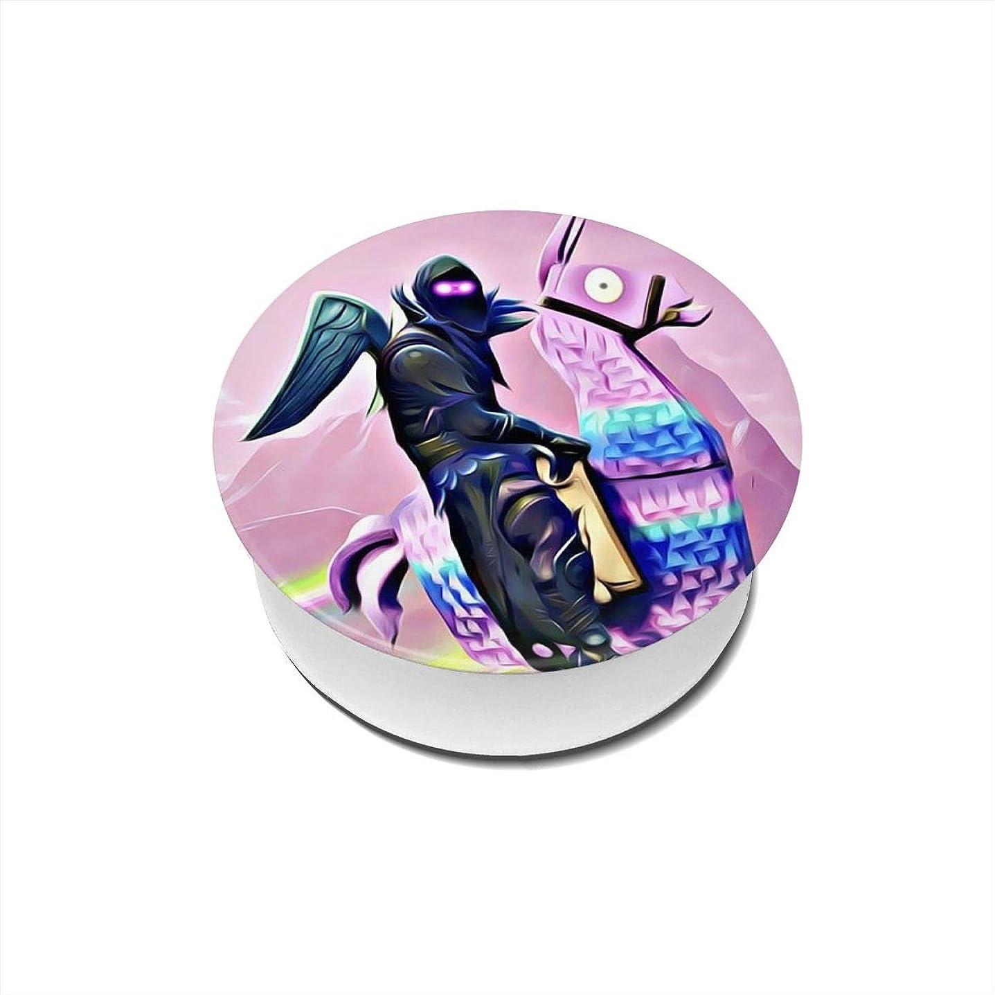 ピンクにはまって失速Yinian フォートナイト バトルロイヤル スマホリング/スマホスタンド/スマホグリップ/スマホアクセサリー バンカーリング スマホ リング おしゃれ ホールドリング 薄型 スタンド機能 ホルダー 落下防止 軽い 各種他対応/iPhone/Android