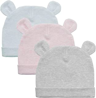Durio Baby Hats Newborn Baby Beanie Knot Baby Boy Hat Soft Baby Girl Beanies Gifts for Baby Newborn Fall Winter Caps