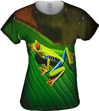 Yizzam- Red Eyed Tree Frog -Tshirt- Womens Shirt