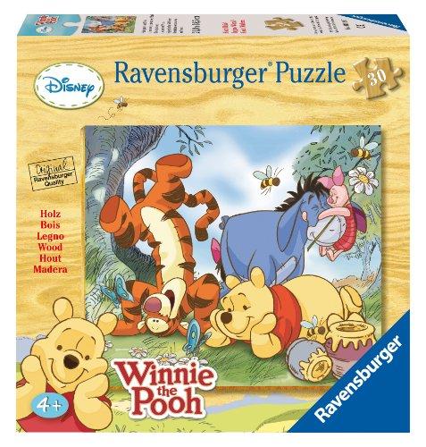 Ravensburger 39197 Winnie The Pooh Puzzle in Legno da 30 Pezzi