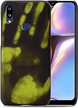 Hicaseer Capa para Galaxy A10S, capa com sensor térmico e capa protetora ultrafina antiarranhões estilosa que muda de cor ...