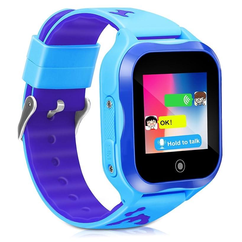 CYHT Kids Smart Watch Phone GPS Tracker Ip67 Waterproof Kids Smartwatches Age 3-15 Boys Girls Touch Screen SIM Slot Educational Toys Phone 1.44 Inch Birthday Gift