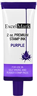 Self Inking Stamp Refill Ink - 2 oz. - Purple Ink