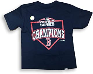 Boston Red Sox 2018 World Series Champs Crew Neck Toddler Boy's T-Shirt