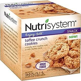 nutrisystem toffee crunch cookies
