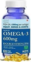 Carbamide Forte Omega 3 Fish Oil 1000mg Double Strength (330mg EPA & 220mg DHA) - 60 Softgels