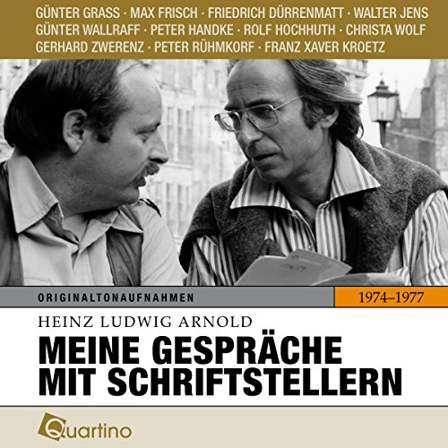 Meine Gespräche mit Schriftstellern 1974–1977 audiobook cover art