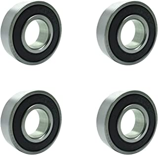 Four (4) 99502H-2RS Double Sealed Ball Bearings 5/8 x 1 3/8 x 7/16 Inch