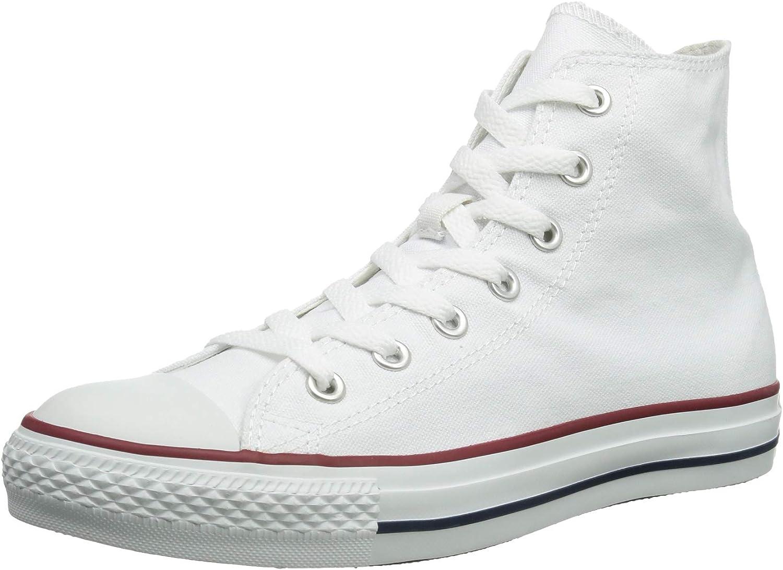 Converse As Hi Can Optic. Wht Altas Unisex-Erwachsene Turnschuhe, Weiß - Weiß (Optical Weiß) - Größe  Men's 6.5, Woherren 8.5 Medium