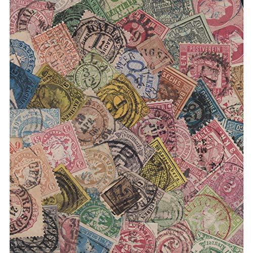 Goldhahn Altdeutschland-Superlot 500 Euro-Michel Briefmarken für Sammler