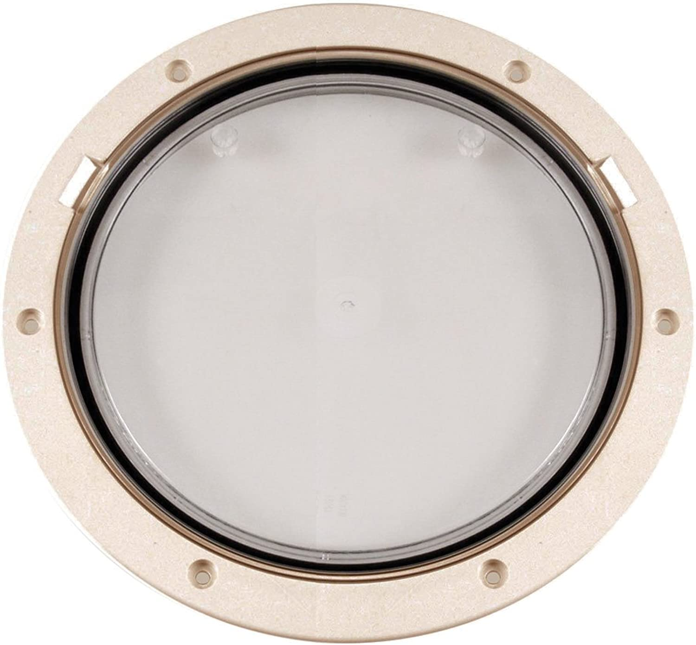 Beckson Marine Beckson 8  Clear Center PryOut Deck Plate