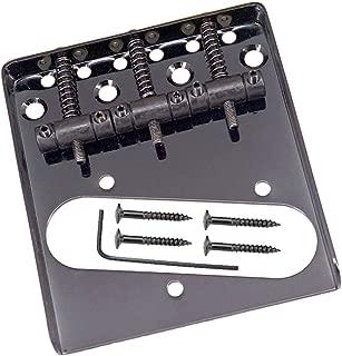 134x126x27mm Negro Sharplace Zinc Alloy JB Jazz Bass Guitar Cover Puente para Bajos El/éctricos Piezas de Repuestos