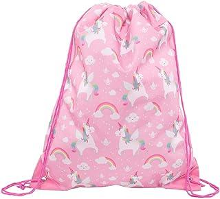 Sass & Belle regnbåge enhörning dragsko väska