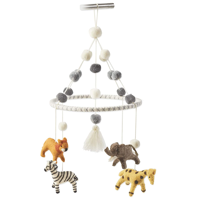 Ranking TOP11 Mud Pie 2021 model Nursery Baby Mobile Crib Multicolor Safari