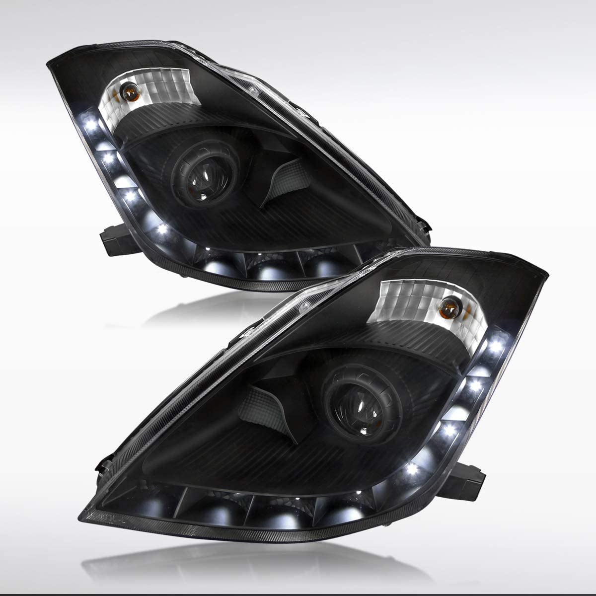 Max 65% OFF Autozensation for 2006-2009 Nissan 350Z HID Very popular Projector Type Black