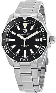 Aquaracer Black Dial Quartz Mens Watch WAY111A.BA0928