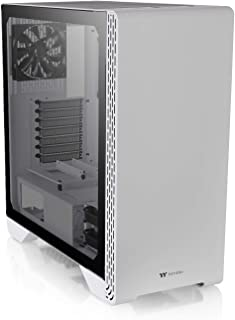 Thermaltake S300 TG Snow Caja de la PC, CA-1P5-00M6WN-00