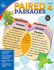 Improve reading comprehension skills by having students read and synthesize pairs of passages Each pair of passages, linked by a common topic or theme, is followed by two pages of questions and activities Students will Compare and contrast fiction wi...