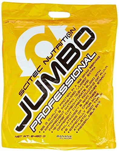Scitec Nutritiongainer Jumbo Professional, Banane, 6480g