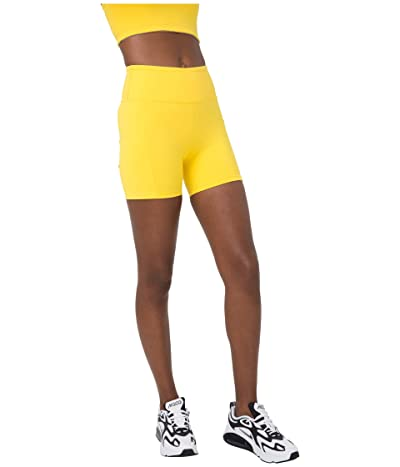 YEAR OF OURS Tennis Shorts (Yellow) Women