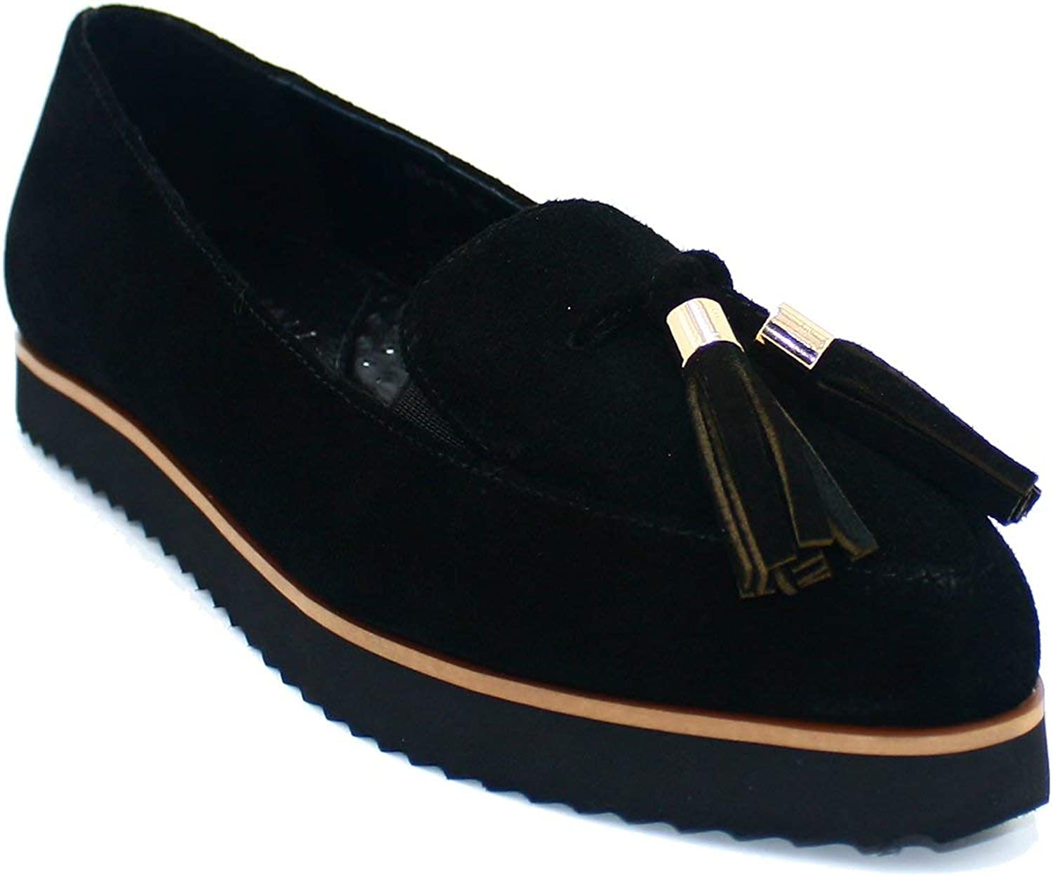 AVAH NEW YORK Layla Tassel Opening large release sale Pointed Free shipping Loafer
