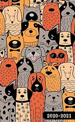 2020-2021: 2-Year Pocket Planner, 24-Month Calendar Jan 2020 to Dec 2021- So Many Dog Design (Pocket planner dog)