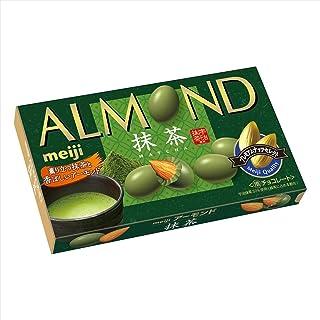 明治 アーモンドチョコレート抹茶 79g ×10箱