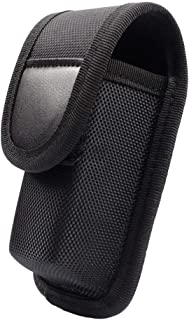 ROCOTACTICAL OC/Mace Spray Holder Pouch for MK3 Canister, Police Duty OC Pepper Spray Holster Pouch, Black