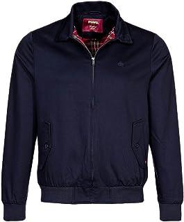 Mens blue jackets A/W 2015 new harrington jacket