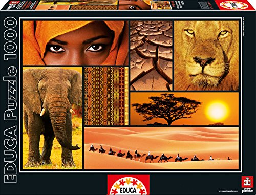Puzzles Educa - Puzzle Colores De África