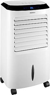 Monzana Aire acondicionado portátil 4en1 móvil ventilador humidificador ionizador purificador de aire temporizador 65W