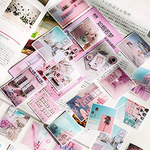 AXHZL Pack Recollection Of Time Decoration Stationery Sticker Scrapbooking Planner Journal Diary Decorative Label Stickers 50 Pcs