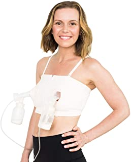 Simple Wishes DLITE Hands Free Pumping Bra, USA Company, Comfortable, Adjustable,..