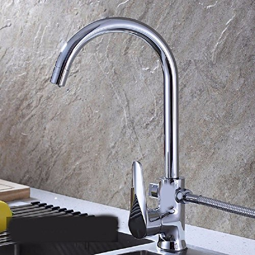 Commerciële Single Lever Pull Down Keuken wastafel kraan messing geconstrueerd Multi-Functie Keukenkraan Vaatwasser Wasserij Zwembad kan worden aangesloten op de Wasmachine Multi-Functie Keukenkraan