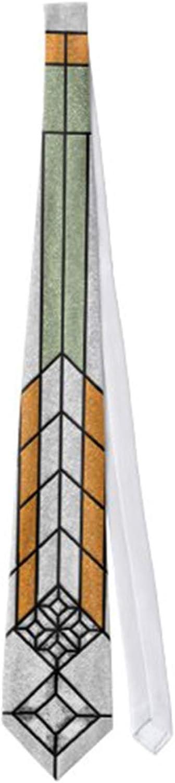 ! Super beauty product restock quality top! Men's Classic Necktie Art Outlet SALE Deco Tie Glass Neckties Stained