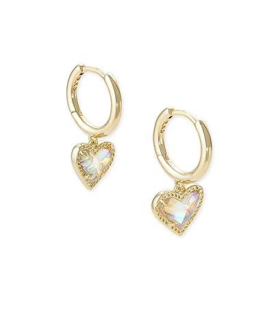 Kendra Scott Ari Heart Huggie Earrings
