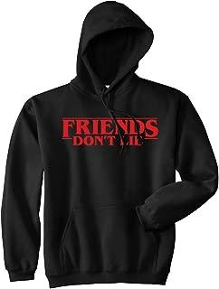 Mars NY Strange Friends Don't Lie Premium Hooded Sweatshirt Pullover Sweater Jumper