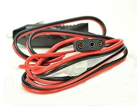 POWER CORD w/ LIGHTER PLUG Heavy Duty 16 ga with 3 pin socket for CB Ham Radios - Workman CB3AP