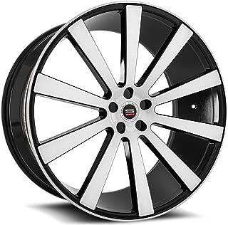 SPEC-1 Luxury SPL-002 Gloss Black Brushed Wheels (20x9