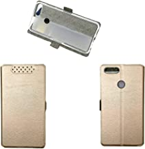 for Lenovo K5 Note 2018 Case,PU Leather Flip Case for Lenovo K5 Note L38012 2018 Case Cover Pink gold